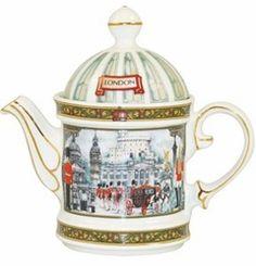 Horseguards Teapot - James Sadler James Sadler Teapots