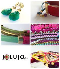 #handmade. Cuidamos los detalles, los materiales y el #diseño. Date una vuelta por la tienda www.jolujo.es #jolujoes