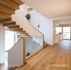 MA0012 ::: Massivholzhaus ::: Lehmputz ::: www.markusriepl.at Stairs, Home Decor, Mud Rooms, Room Interior, Stairways, Ladder, Staircases, Room Decor, Home Interior Design