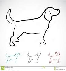 Illustration about Vector image of a dog labrador on white background. Illustration of illustration, breed, black - 37279843 Animal Line Drawings, Dog Line, Diy Dog Treats, Line Illustration, House Illustration, Dog Wallpaper, Pet Rocks, Dogs Golden Retriever, Dog Paintings
