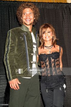 Justin Guarini and Paula Abdul in the press room the 17th Annual Soul Train Music Awards at the Pasadena Civic Auditorium in Pasadena, CA