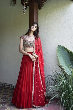 Buy beautiful Designer fully custom made bridal lehenga choli and party wear lehenga choli on Beautiful Latest Designs available in all comfortable price range.Buy Designer Collection Online : Call/ WhatsApp us on : Designer Bridal Lehenga, Bridal Lehenga Choli, Ghagra Choli, Lehanga Bridal, Simple Lehenga Choli, Wedding Lehnga, Red Lehenga, Party Wear Lehenga, Anarkali