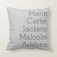 Natural Gray Five Kids Names Personalized Family Throw Pillow diy for fathers day, mothers day presents diy, uncles birthday gift Uncle Birthday Gifts, Birthday Present For Husband, Birthday Presents For Dad, Mothers Day Presents, Homemade Fathers Day Gifts, First Fathers Day Gifts, Diy Father's Day Gifts, Father's Day Diy, Funny Fathers Day Quotes