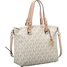 Beautiful Cream Hand Tote bag from MK