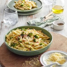 Collect this Bacon, Broccoli and Parmesan Pasta recipe by Perfect Italiano. MYFOODBOOK.COM.AU | MAKE FREE COOKBOOKS Parmesan Crusted Chicken, Parmesan Pasta, Parmesan Recipes, Italian Pasta Recipes, Pasta Salad Recipes, Italian Dishes, Broccoli Pasta, Bacon Pasta, Pesto Pasta