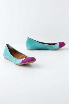 Anthropologie - Handpainted Taika Flats