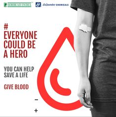 """""""A single pint can save three lives; a single gesture can create a million smiles. Donate Blood make the planet a stronger place.!"""" Happy World Blood Donor Day! 🩸Donate blood ❤️ Save lives #worldblooddonorday #blooddonation #savelives #sorbeadindia #swambechemicals Blood Donation, Save Life, India, Create, World, Happy, Goa India, Ser Feliz, The World"""