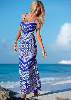 f f navy maxi dress venus