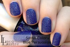Sinful Colors - Blue Persuasion (Textured)