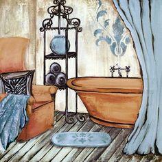 Gina Ritter i bath