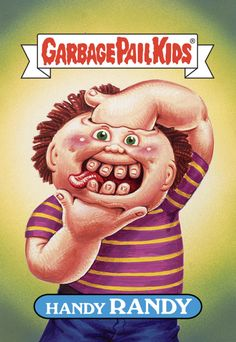 Garbage Pail Kids - Old classics now being offered at Gelaskins.com