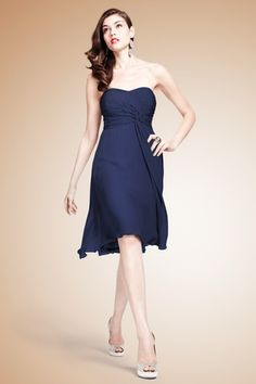 8a15ed2f21 The Tara Dress- Stunning chiffon dress with a ruched sweetheart bodice that  twists and flows