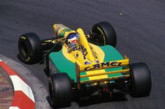 F1 Pictures, Michael Schumacher  Benetton - Ford 1993