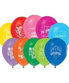 Doğum günü parti süslemeleri için 1 Yaş Doğum Günü Renkli Balonları ve bütün parti malzemelerini online olarak uygun fiyatlar ile satın…