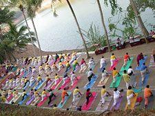 Sivananda Yoga Vedanta Dhanwantari Ashram, Neyyar Dam, Kerala, South India