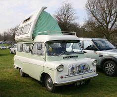 1966 Bedford CA Dormobile Bedford Van, Bedford Truck, Vintage Rv, Vintage Caravans, Vintage Vans, Camper Caravan, Camper Van, Cabover Camper, Cool Rvs