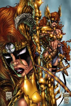 Now that's what I'm talking about - Spawns Angela gets her Marvel make-over