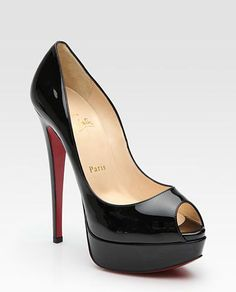 Christian Louboutins  These remind me of Princess Margaret; she always used to wear these shoes...
