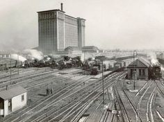 Michigan Central Station in it's heyday
