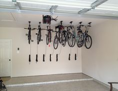 Motorized Horizontal Double Bike Lift High Tech Always