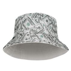 d7cb5421429 Dollar Bucket Design Printed Bucket Hat Bucket Hat