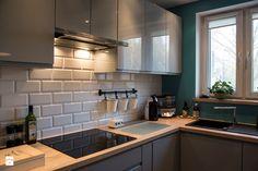 Znalezione obrazy dla zapytania projekty kuchni w bloku
