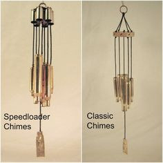 Whether they keep critters away from your garden, or remind you to target practice this weekend, these unique, bullet casing wind-chimes create a lovely tone!