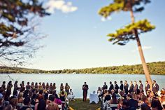 The lakeside views to take your vows at Interlaken Inn are breathtaking.