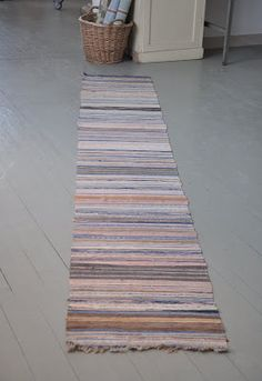 Tear, Recycled Fabric, Paul Smith, Woven Rug, Recycling, Weaving, Rag Rugs, Inspiration, Fiber