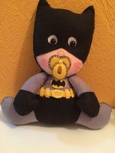 Batman Baby - bonecos de feltro
