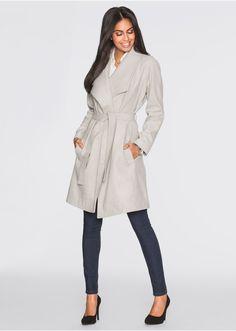 Krótki płaszcz z wykładanym kołnierzem • 249.99 zł • bonprix
