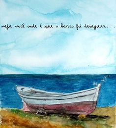 O mar agitado das tristezas e das dores acaba quase sempre no raiar do dia seguinte