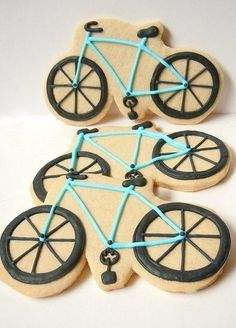 What a great way to combine our favorite things: bikes and dessert!