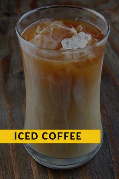 Iced Coffee is the perfect addition to any afternoon when you need some extra caffeine. Iced Coffee At Home, Easy Coffee, Fall Recipes, Whole Food Recipes, How To Make Ice Coffee, Good Food, Yummy Food, Coffee Cream, Recipe Notes