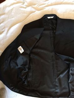 a49d9417793b71 Versini Charcoal Grey Suit Size 48 Regular Suit Coat 43 Regular Pants   fashion  clothing