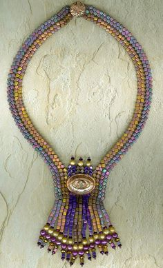 Aztec Queen A Beading Pattern by StonyCreekBead on Etsy, $10.00
