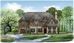 Memphis Ridge House Plan Rendering
