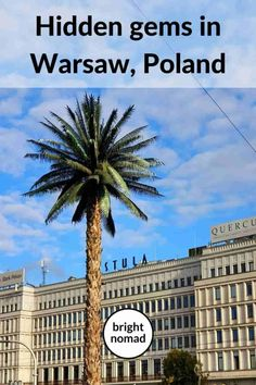 Warsaw hidden gems: Unique things & places in Warsaw, Poland