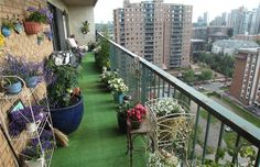 Balcony Zen Garden Ideas Balcony garden idea