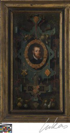 Portretten van Christoffel Ghuyse en Elisabeth Van Male