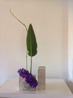 sogetsu Ikebana Rita Nagelkerke Delphinium