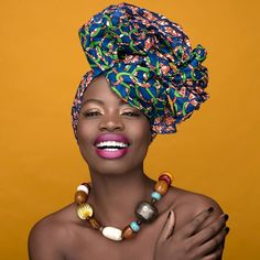 """Headwrap Queen-Paola Mathe - Fabulous Head Wraps - African Designers & Models - Part 3- Funky Fashions - Funk Gumbo Radio: http://www.live365.com/stations/sirhobson and """"Like"""" us at: https://www.facebook.com/FUNKGUMBORADIO"""