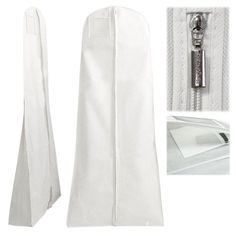 """Hangerworld 72"""" Breathable Wedding Gown Dress Garment Clothes Cover Bag with Secret Internal Zipped Pocket - White HANGERWORLD http://www.amazon.com/dp/B001D727RI/ref=cm_sw_r_pi_dp_.fM6tb08Z3NCP  @InStyleBlooms This would be great for your dress"""