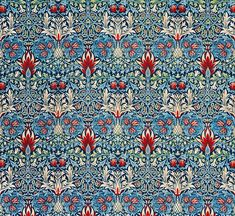 Snakeshead pattern (1876-1877) by William Morris. Original from The Cleveland Museum of Art. Digitally enhanced by rawpixel. | free image by rawpixel.com / The Cleveland Museum of Art (Source) Daisy Wallpaper, Pattern Wallpaper, Snake Patterns, Flower Patterns, Paper Patterns, Vintage Patterns, Botanical Flowers, Botanical Prints, William Morris Patterns