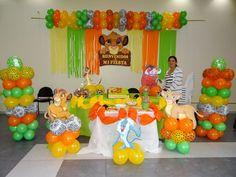 Fiesta para niño con tema de la guarida del león (17) - Tutus para Fiestas Mexico - Disfrases personalizados y moños