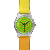 Colourful Watch with Colourful Circular Design Digital Watch, Chronograph, My Design, Watches, Accessories, Color, Wristwatches, Colour, Clocks
