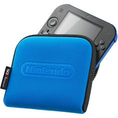 Nintendo Carrying Case Blue (Nintendo - Nintendo - Ideas of Nintendo Nintendo 2ds, Nintendo Consoles, New Video Games, Gamer Gifts, Mario Kart, Geek Out, Level Up, Video Game Console, Videos