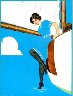 Vintage et cancrelats: Coles Phillips (1880 - 1927)