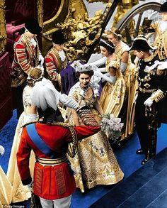 Coronation of Queen Elizabeth II. Amazing picture for her highness Queen Elizabeth II.