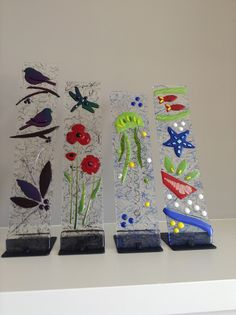 E. Badiuk Fused Glass - Around Sooke